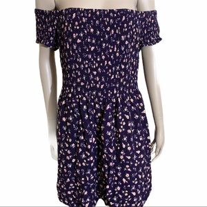 4/25.00 Mossimo Off the Shoulder Floral Dress